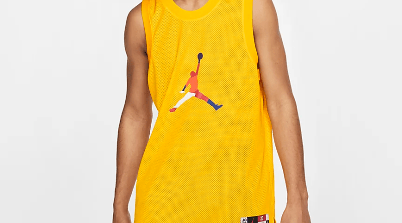 Air Jordan Rivals Jersey (Yellow) 3