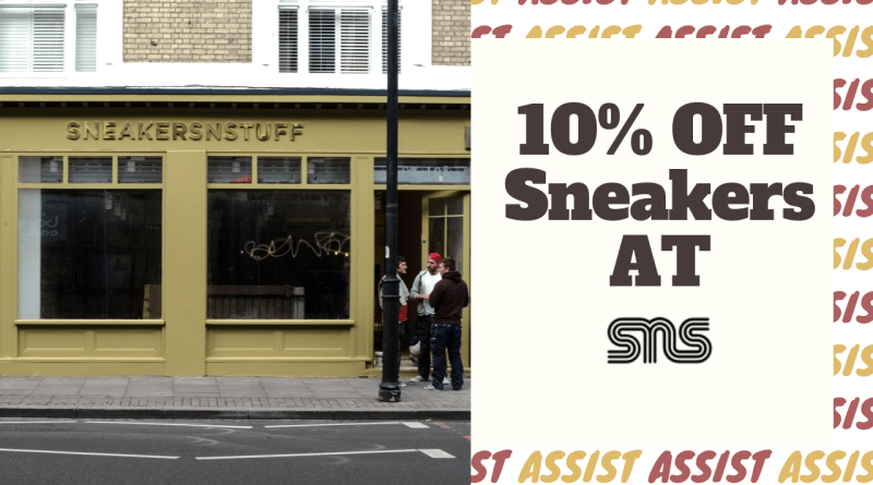 Sneakers N Stuff Discount Code 10% Off All Sneakers