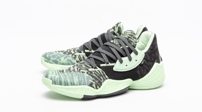 Adidas Harden Vol 4 Green Glow 1