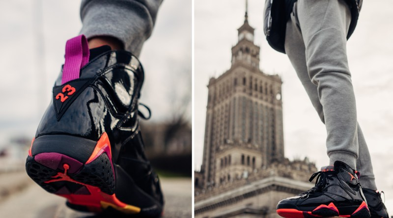 Air Jordan 7 Retro Black Gloss 313358-006 Now UNDER £100
