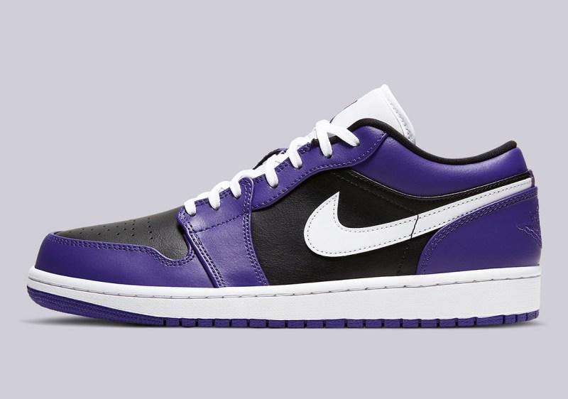 Air Jordan 1 Low Court Purple 553558-501 Release Info UK 2