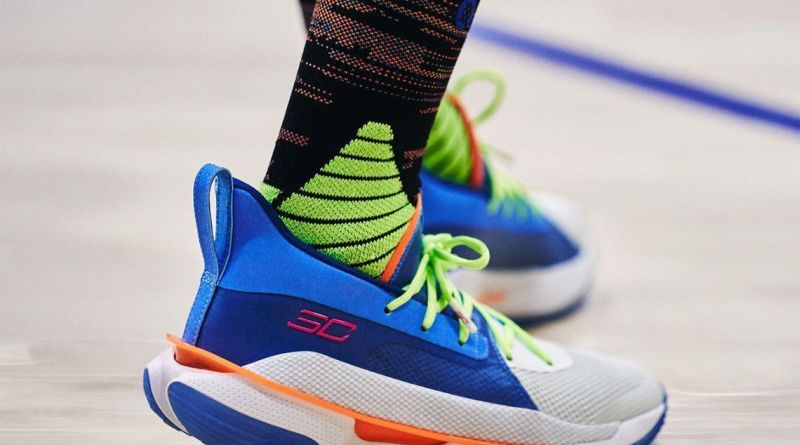 Under Armour Curry 7 Nerf Super Soaker 3021258-001 Sale UK