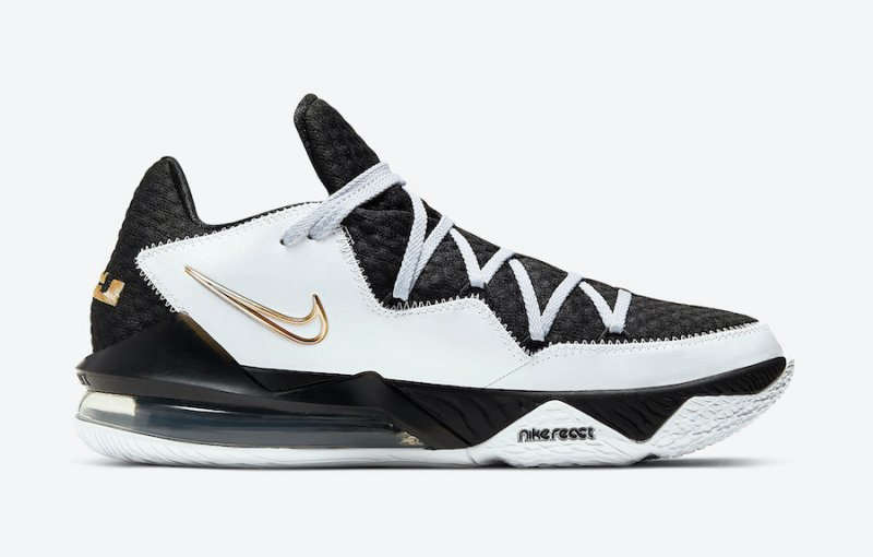 Nike Lebron 17 Low Metallic Gold CD5007-101 Now Available 4