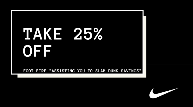 Take 25% OFF Full Price Items With Nike Spring Discount Code
