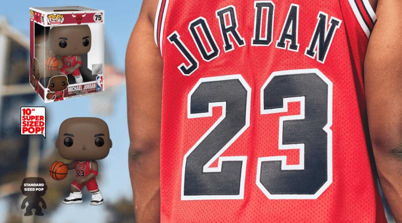 10 Super Size Funko 45598 Pop NBA Michael Jordan Collectable Figure