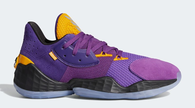 Adidas Harden Vol 4 Lakers Su Casa Pack Fw7496 Where To Buy Uk 2