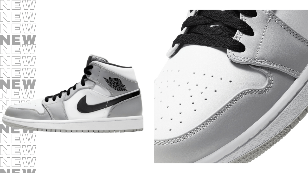 Air Jordan 1 Mid Smoke Grey Now Available Foot Fire
