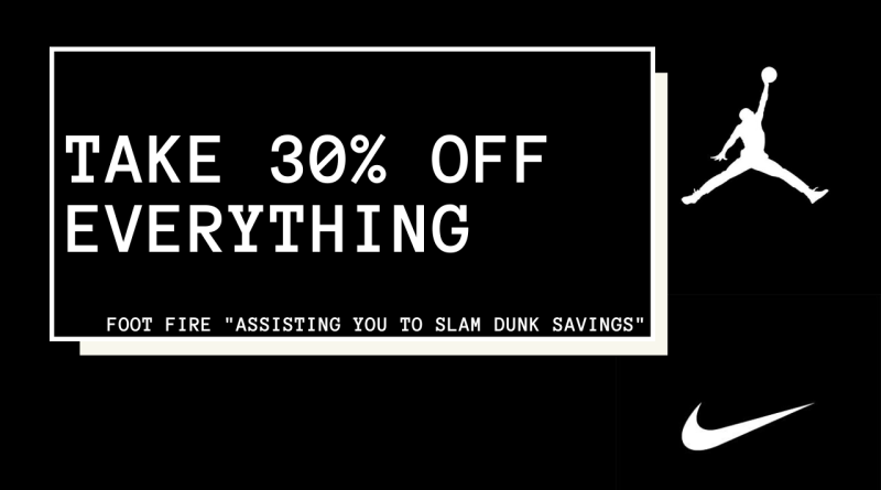 Take 30% OFF Everything With This Nike Bank Holiday Discount Code