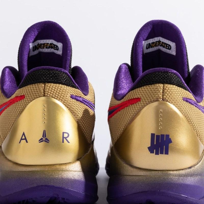 "UNDEFEATED x Nike Kobe 5 Protro ""Hall Of Fame"" DA6809-700 - Release Date 7"