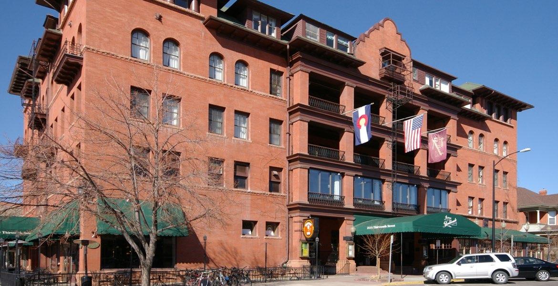 Hotel Boulderado Boulder CO