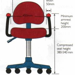 Ergonomic Chair Dimensions Rattan Chairs Dining Archives Foothills Orthopedic Sport Therapy Ar