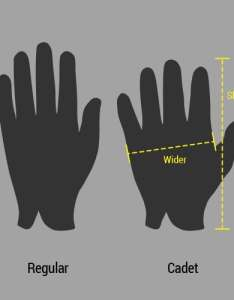 Cadet sizing footjoy golf gloves also glove fitting guide rh