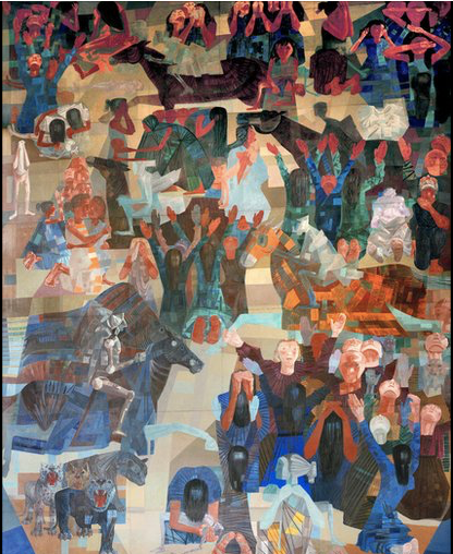 Candido Portinari, War, 1952-1956 UN Headquarters - Brazilian Painters