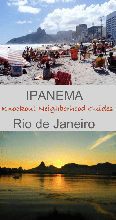 Ipanema - Knockout Neighborhood Guides - Footloose Lemon Juice