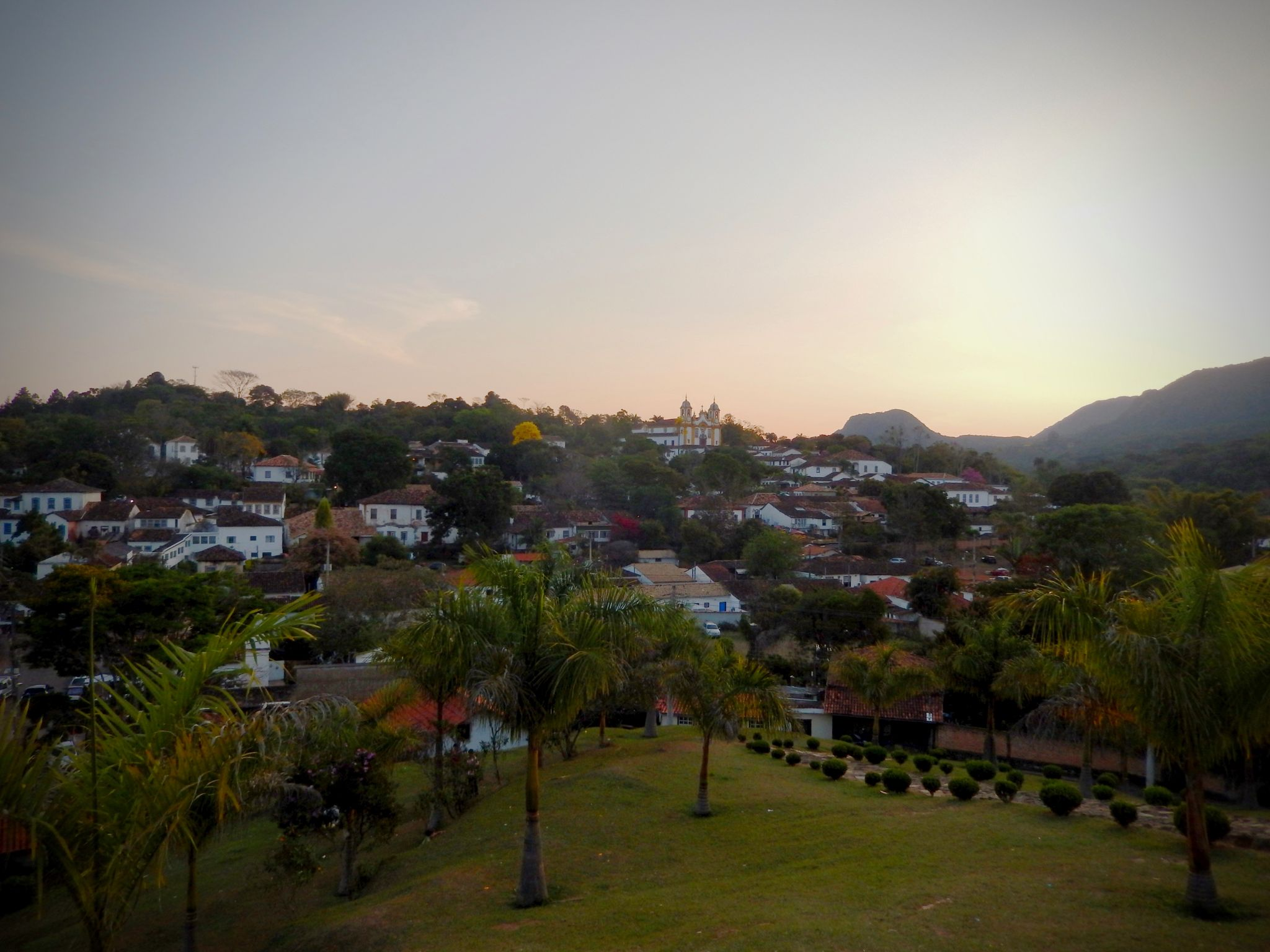 View of city of Tiradentes