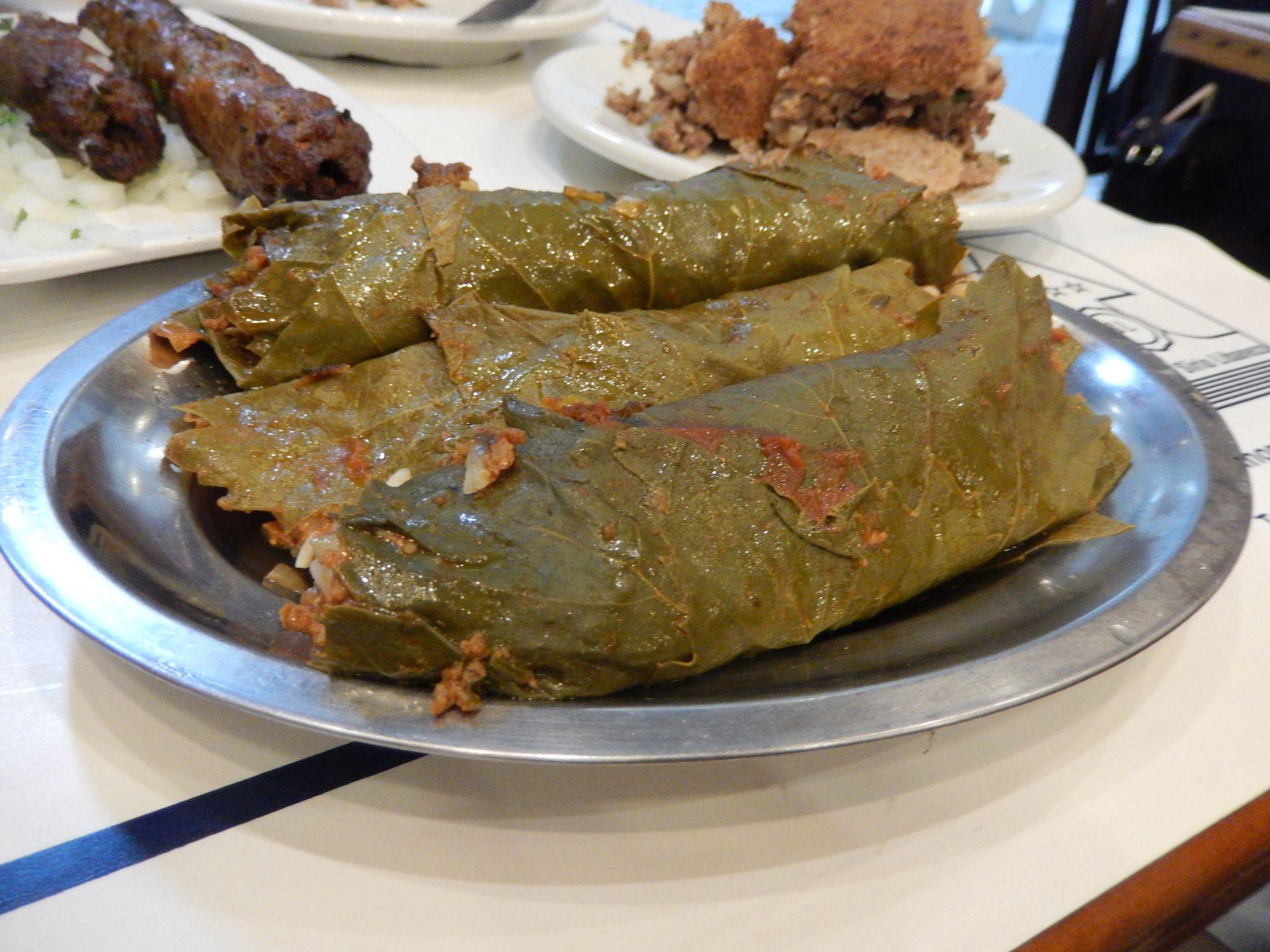 Arab Food in Largo do Machado, Rio de Janeiro