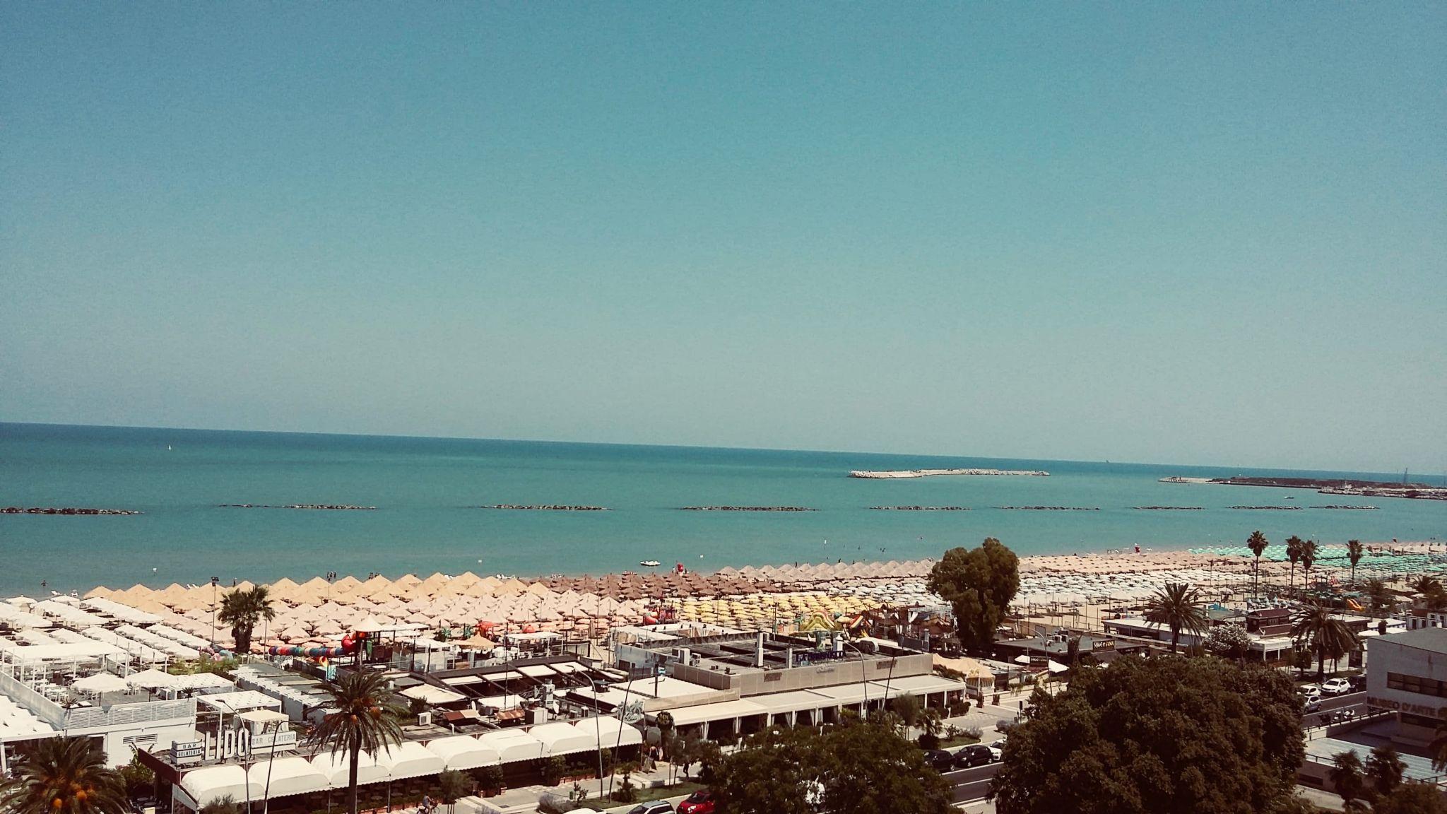 Adriatic Sea view Abruzzo Italy
