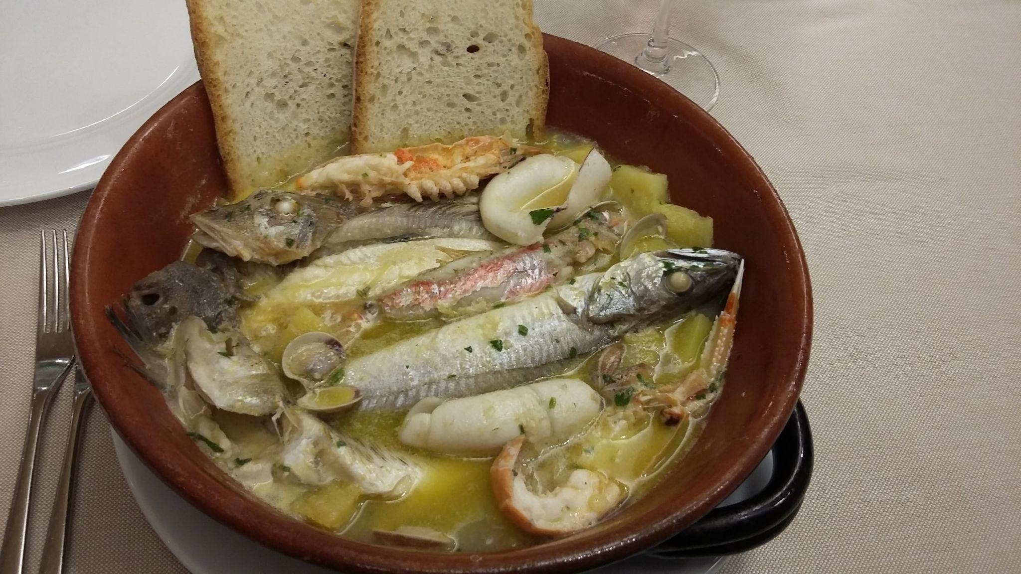 Fish Stew Abruzzo Italy
