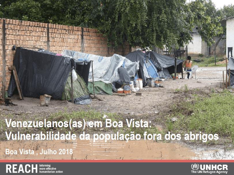 Venezuelan Refugees in Boa Vista