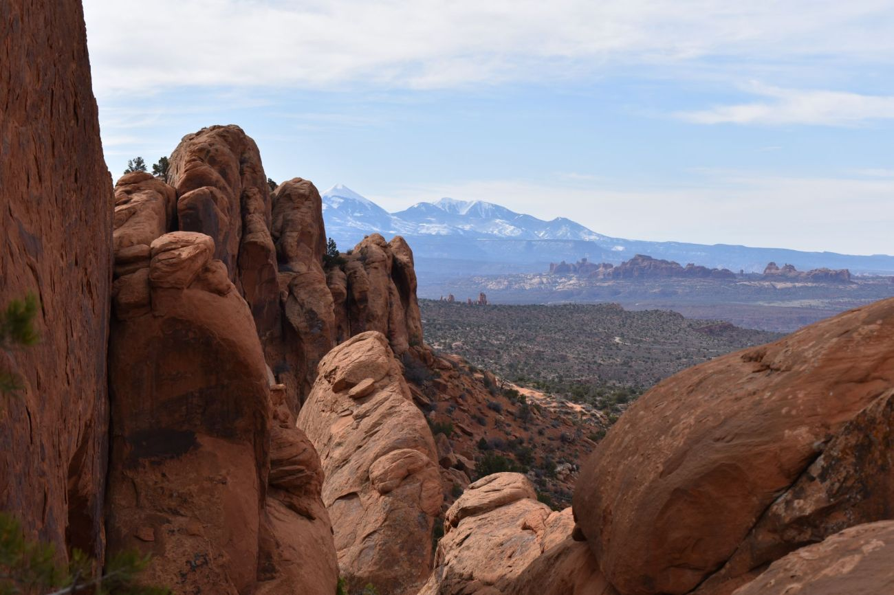 Arches National Park view for USA Lessons
