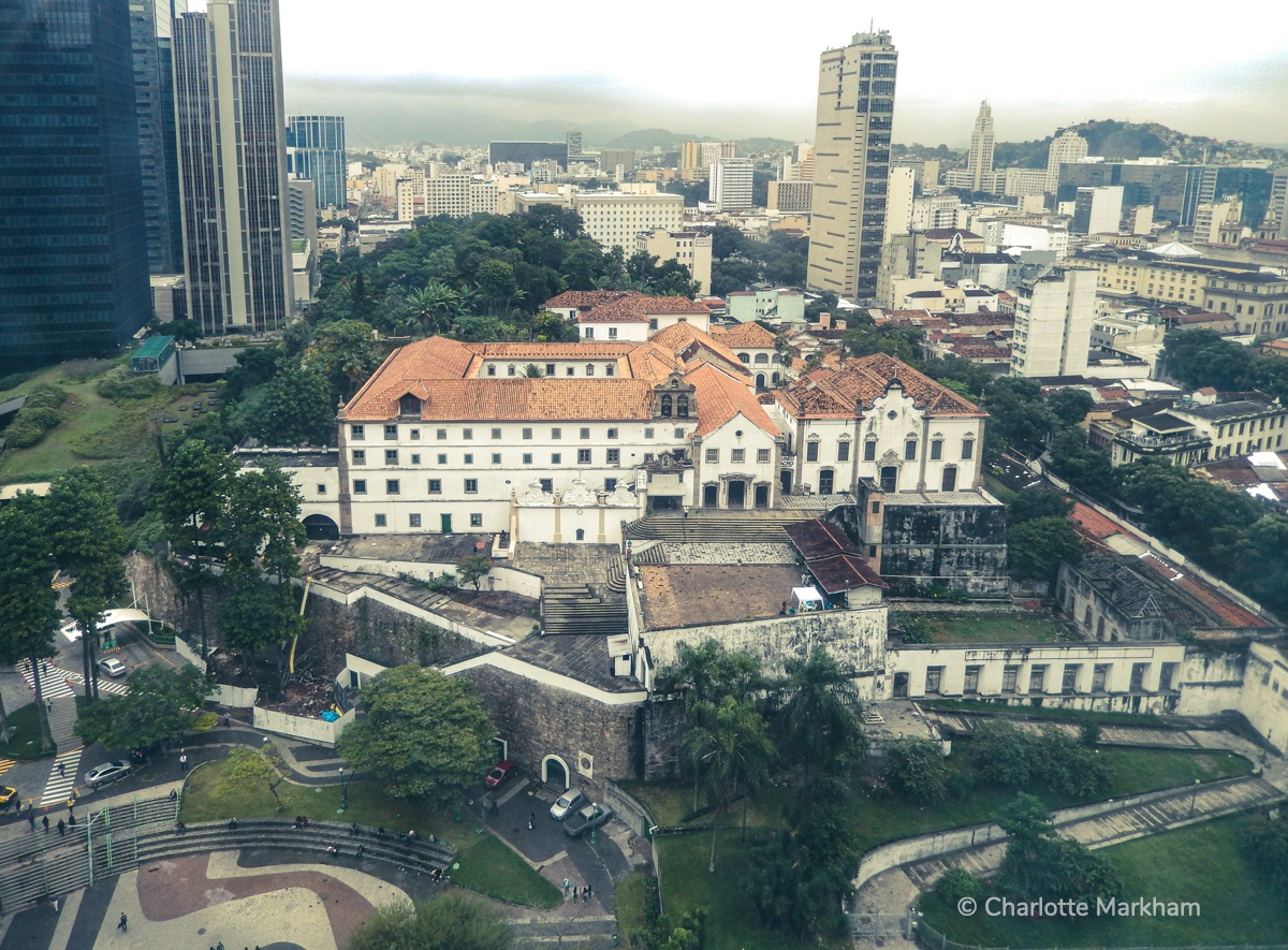 Working in Brazil Rio Downtown Img