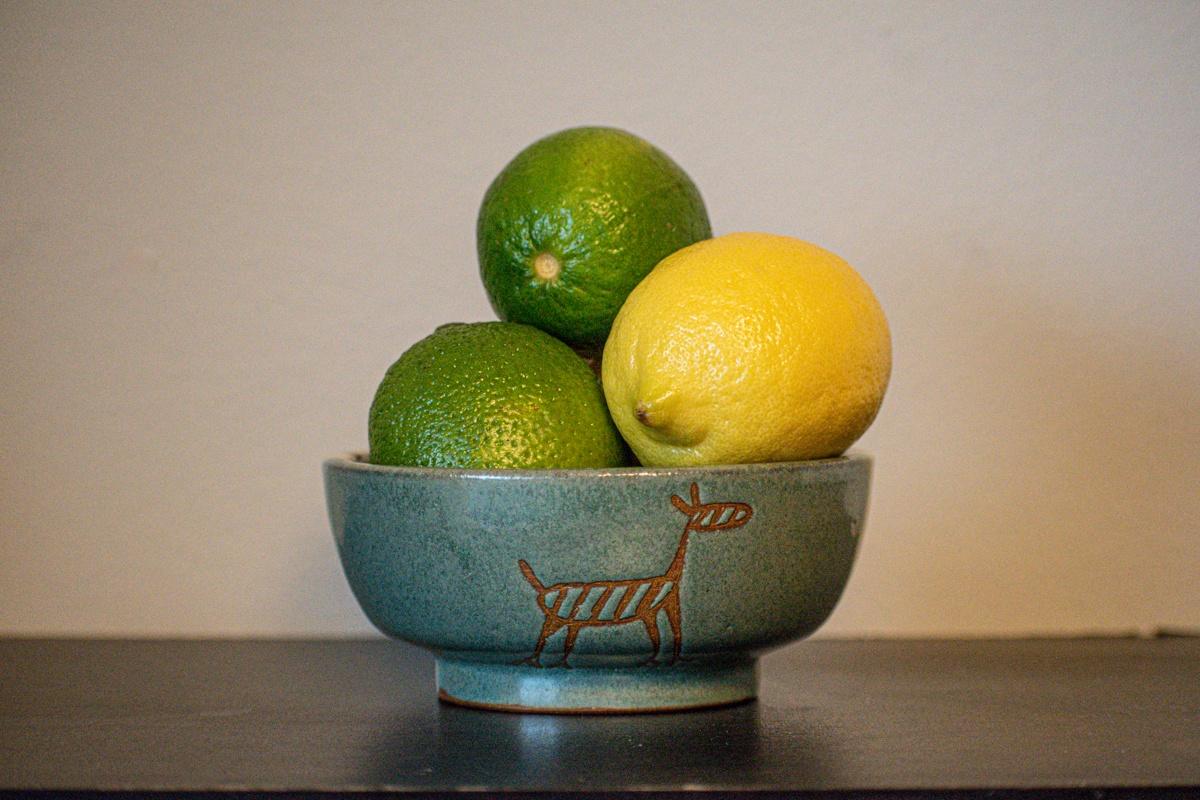 Brazilian souvenir ceramic bowl