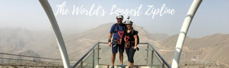 A zipline adventure from Dubai!