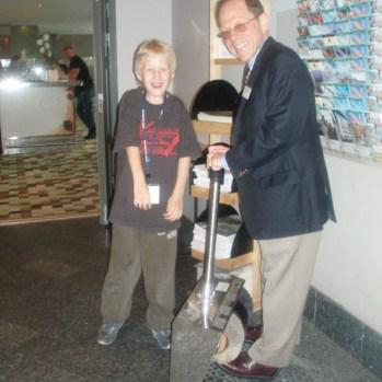 Hugo & Dr Kaplan