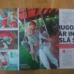 2004. Hugo I Aftonbladets Söndagsbilaga.