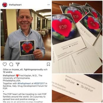 The FOP Heart Card & Vykort