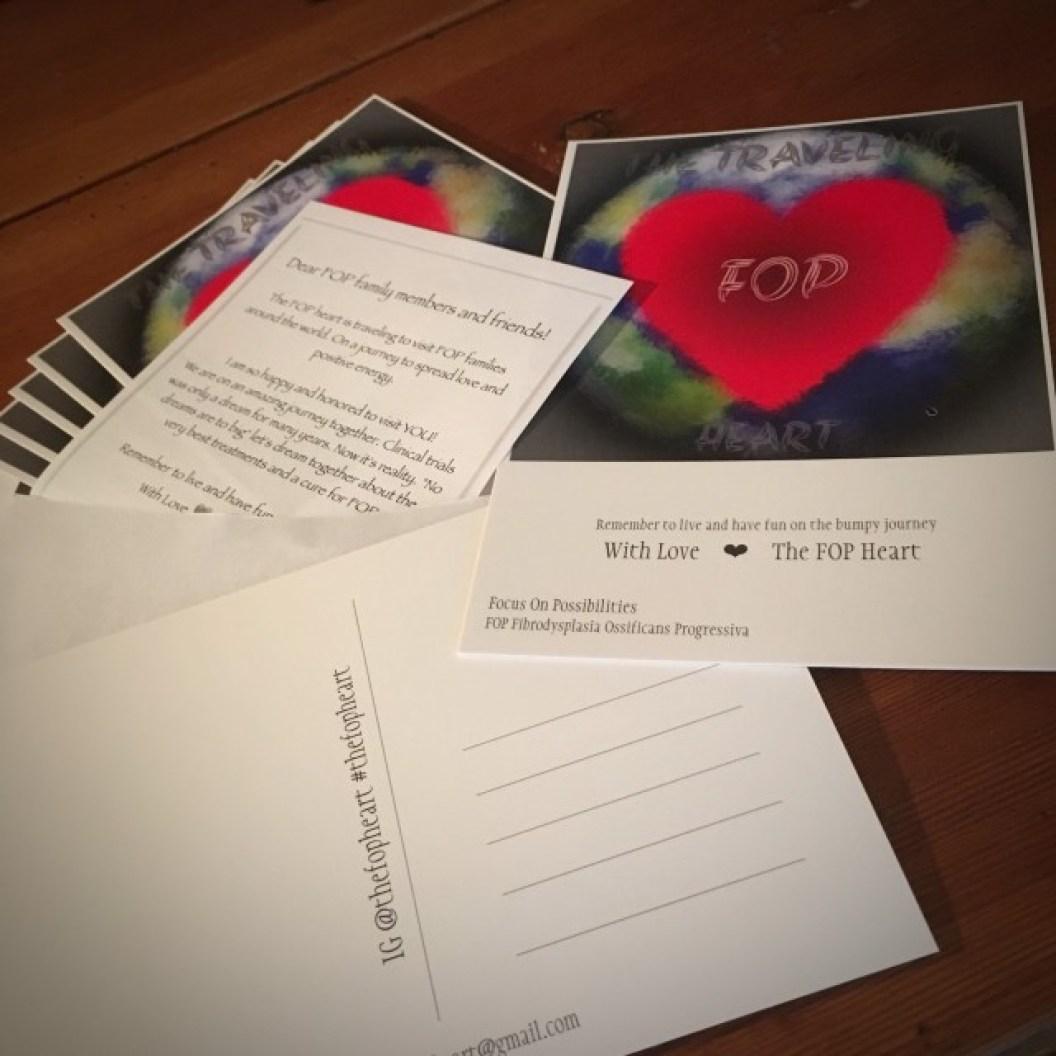 Postcards for sale.