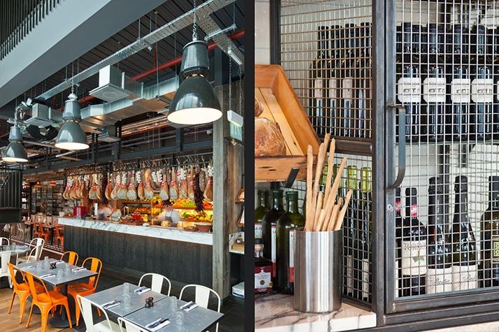 Le restaurant au style industriel de Jamie Oliver