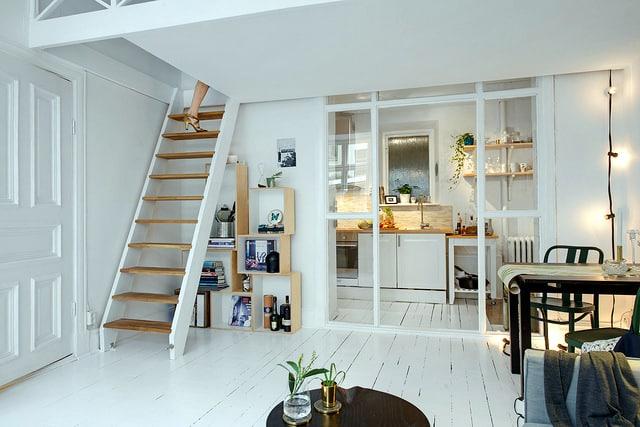 Duplex dans un petit espace