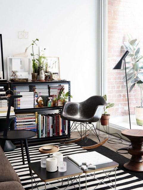 Comment relooker son appartement avec une dco noir et blanc