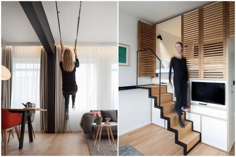 Optimiser lamnagement dun studio avec un lit mezzanine