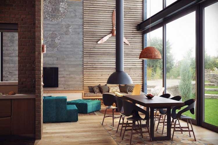 Loft au style industriel et cosy