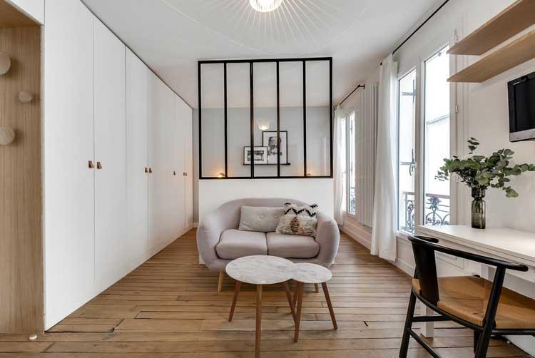 Interesting Crer Une Chambre Dans Un Studio With