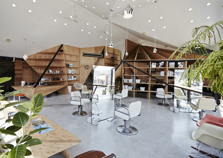 Salon Coiffure Futuriste