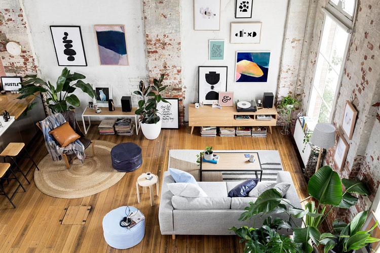 16 ides pour dcorer sa maison avec des plantes vertes