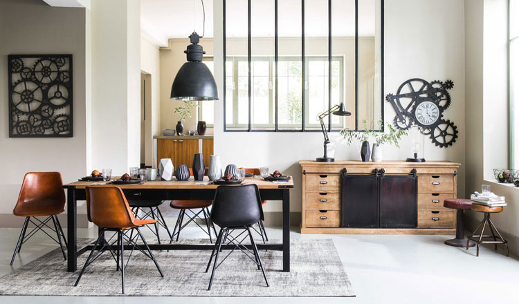 Buffet industriel  Quel modle choisir pour un salon aux airs de loft