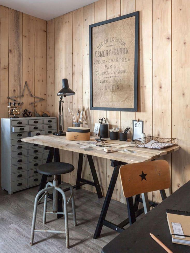 Un mur en bois chez soi pour crer une ambiance singulire