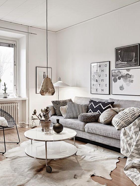 13 astuces dco pour crer un salon scandinave chez vous