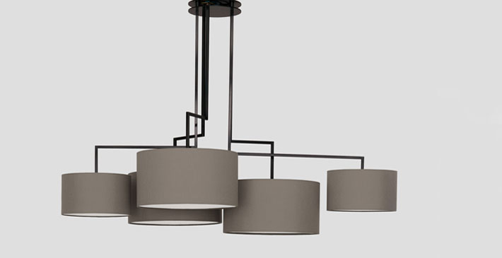luminaire design noon 5 by zeitraum. Black Bedroom Furniture Sets. Home Design Ideas