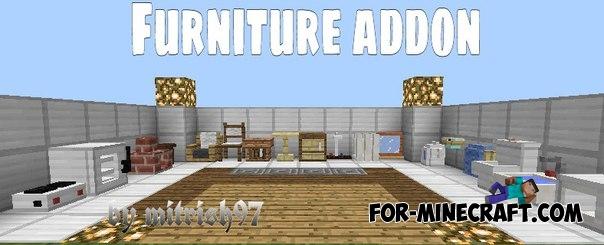 Mrcrayfishs Furniture Mod V6 For Minecraft PE 011013