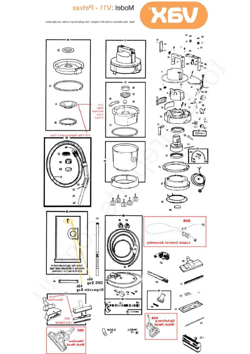 Vax Spare Parts For In Uk 21