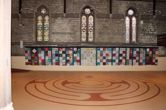 Quilt at Chislehurst methodist church