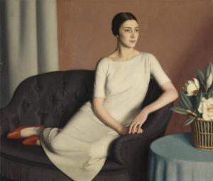 Meredith Frampton's Marguerite Kelsey, 1928