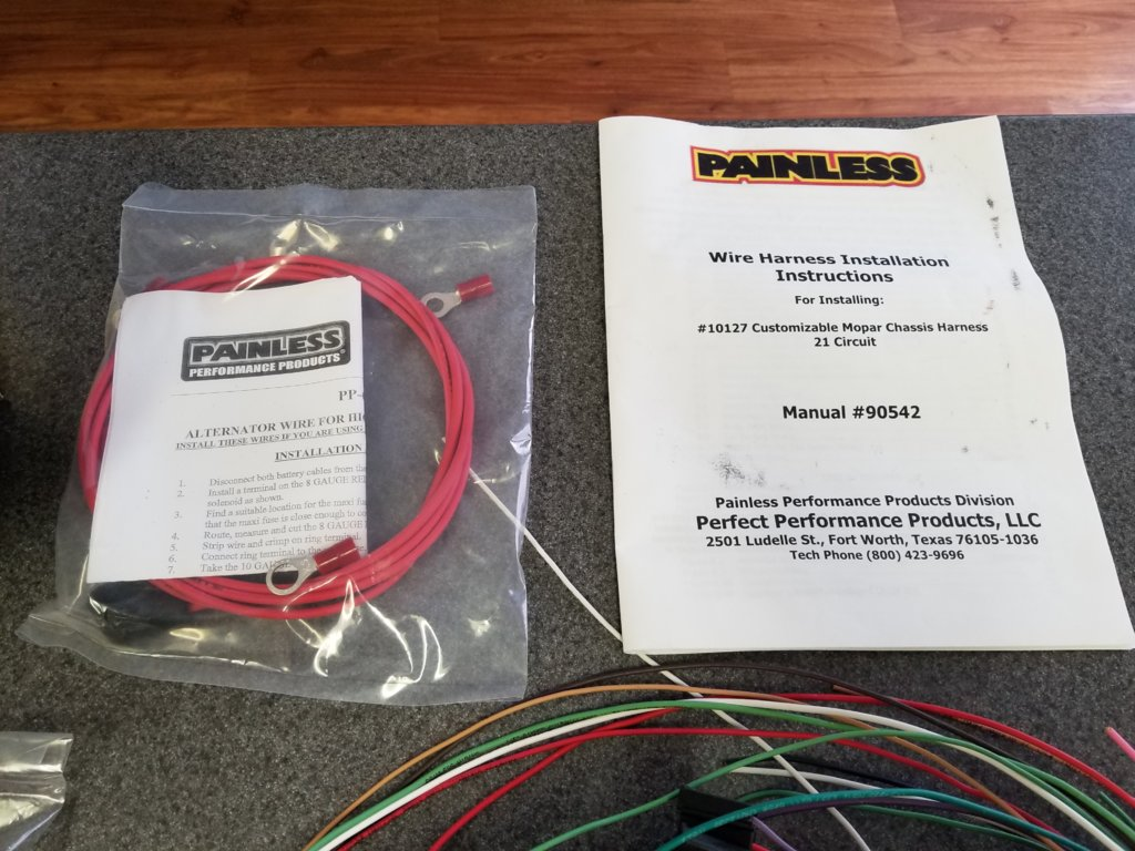 hight resolution of  for sale painless performance 21 circuit mopar color coded universal wiring harnesses 10127