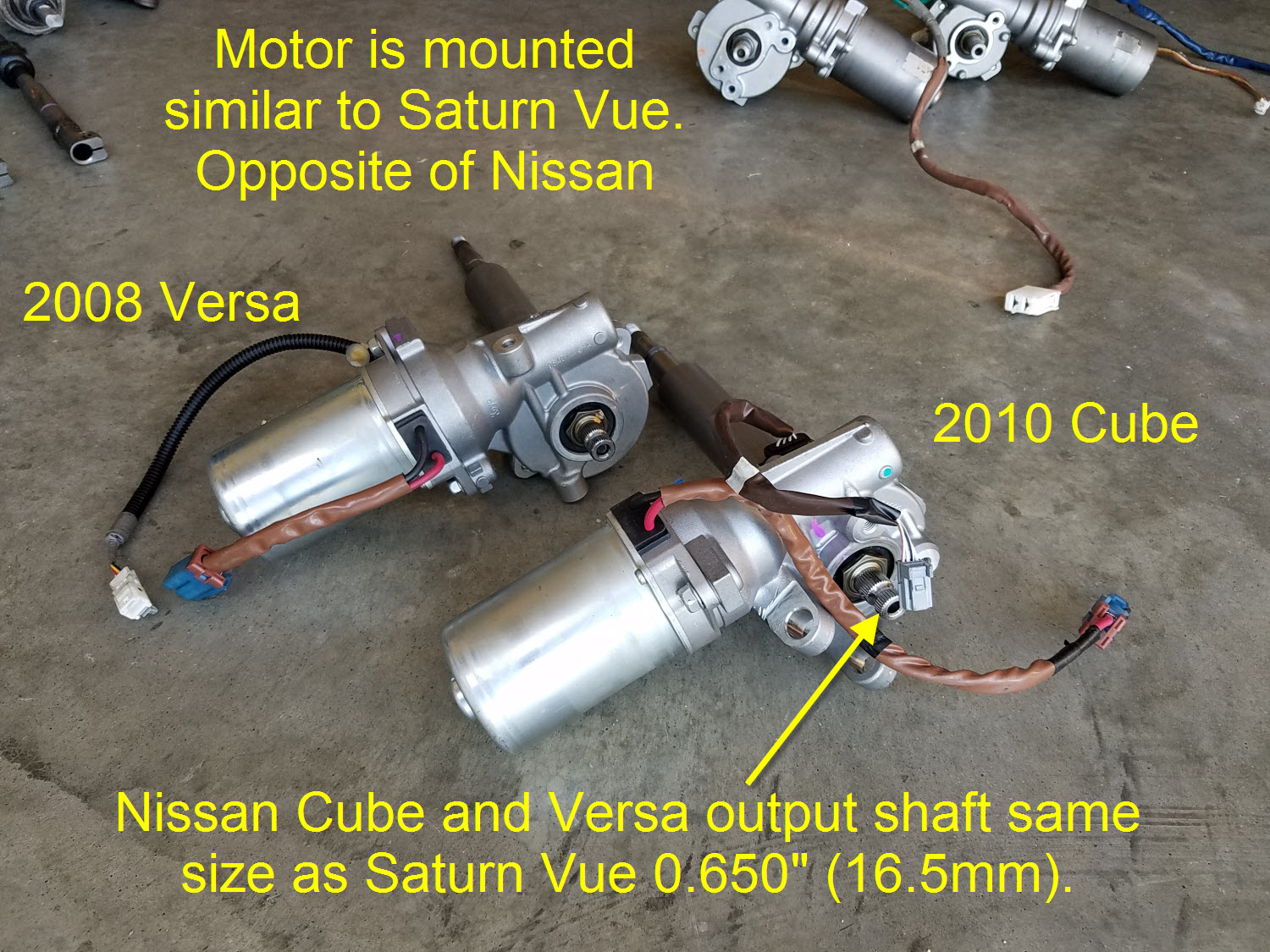 2009 Nissan Cube Wiring Diagram 35 Electric Power Steering With Fail Safe No Ebay