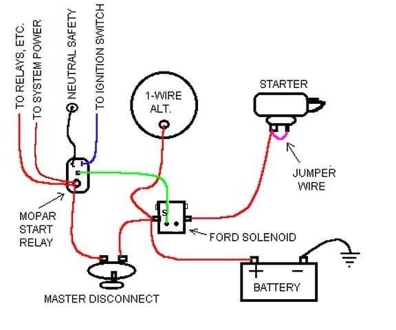 mopar engine wiring